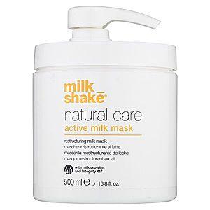 Milk Shake Natural Care Active Milk aktivní mléčná maska pro suché a poškozené vlasy 500 ml obraz