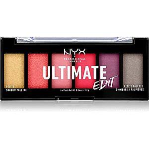NYX Professional Makeup Ultimate Edit Petite Shadow paletka očních stínů odstín 03 Phoenix 6x1.2 g obraz