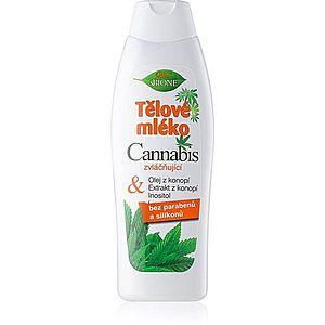 Bione Cosmetics Cannabis hydratační tělové mléko 500 ml obraz