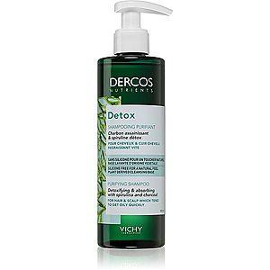 Vichy Dercos Detox čisticí detoxikační šampon pro rychle se mastící vlasy 250 ml obraz