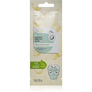 Delia Cosmetics Botanical Flow Coconut Water čisticí pleťová maska pro mastnou pleť 10 g obraz