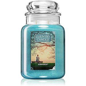 Country Candle Summerset vonná svíčka velká 652 g obraz