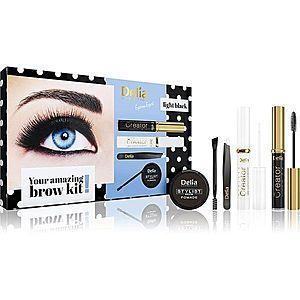 Delia Cosmetics Eyebrow Expert Light Black dárková sada na obočí II. obraz