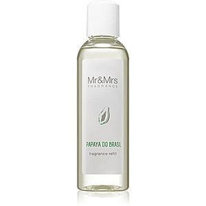 Mr & Mrs Fragrance Blanc Papaya do Brasil náplň do aroma difuzérů 200 ml obraz