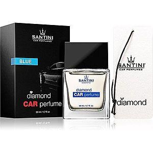 SANTINI Cosmetic Diamond Blue vůně do auta 50 ml obraz