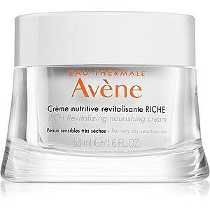Avène Skin Care bohatý výživný krém pro velmi suchou a citlivou pleť 50 ml obraz