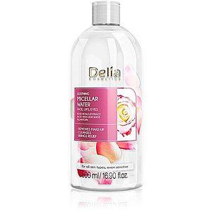 Delia Cosmetics Micellar Water Rose Petals Extract zklidňující čisticí micelární voda 500 ml obraz