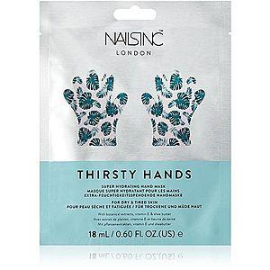 Nails Inc. Thirsty Hands hydratační maska na ruce 18 ml obraz