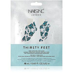 Nails Inc. Thirsty Feet hydratační maska na nohy 18 ml obraz