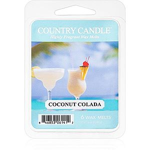 Country Candle Coconut Colada vosk do aromalampy 64 g obraz