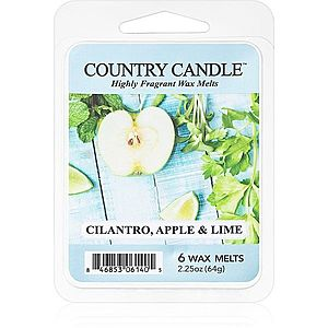 Country Candle Cilantro, Apple & Lime vosk do aromalampy 64 g obraz