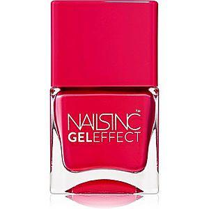 Nails Inc. Gel Effect lak na nehty s gelovým efektem odstín Chelsea Grove 14 ml obraz