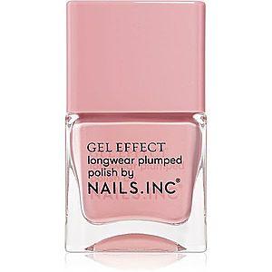 Nails Inc. Gel Effect dlouhotrvající lak na nehty odstín Chiltern Street 14 ml obraz