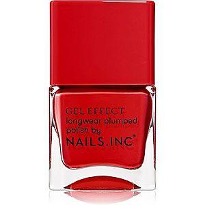 Nails Inc. Gel Effect dlouhotrvající lak na nehty odstín St James 14 ml obraz