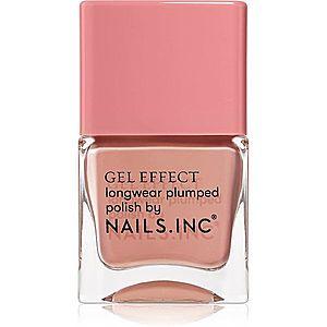 Nails Inc. Gel Effect dlouhotrvající lak na nehty odstín Uptown 14 ml obraz