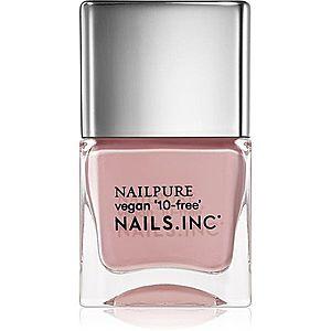 Nails Inc. Nail Pure vyživující lak na nehty odstín Bond Street Passage 14 ml obraz