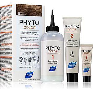 Phyto Color barva na vlasy bez amoniaku odstín 8 Light Blonde obraz