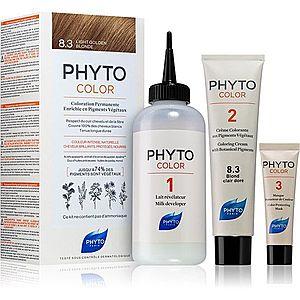 Phyto Color barva na vlasy bez amoniaku odstín 8.3 Light Golden Blond obraz