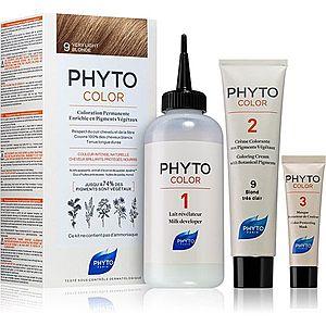 Phyto Color barva na vlasy bez amoniaku odstín 9 Very Light Blonde obraz