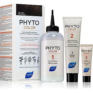 Phyto Color barva na vlasy bez amoniaku odstín 3 Dark Brown obraz
