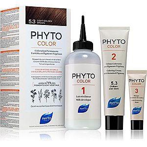 Phyto Color barva na vlasy bez amoniaku odstín 5.3 Light Golden Brown obraz