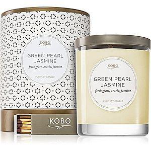 KOBO Coterie Green Pearl Jasmine vonná svíčka 312 g obraz