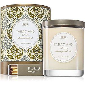 KOBO Motif Tabac and Talc vonná svíčka 312 g obraz