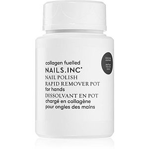 Nails Inc. Powered by Collagen odlakovač na nehty bez acetonu 60 ml obraz
