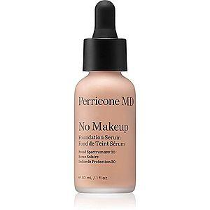 Perricone MD No Makeup Foundation Serum lehký make-up pro přirozený vzhled odstín Nude 30 ml obraz