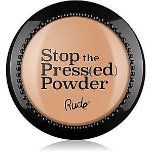 Rude Cosmetics Stop The Press(ed) Powder kompaktní pudr odstín 88094 Rosy Nude 7 g obraz