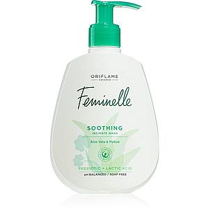 Oriflame Feminelle gel pro intimní hygienu se zklidňujícím účinkem Aloe Vera & Mallow 300 ml obraz