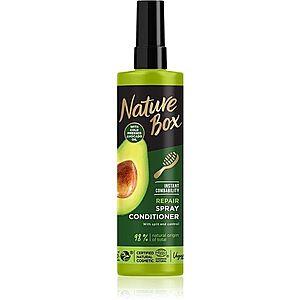 Nature Box Avocado Oil regenerační balzám pro poškozené vlasy ve spreji 200 ml obraz