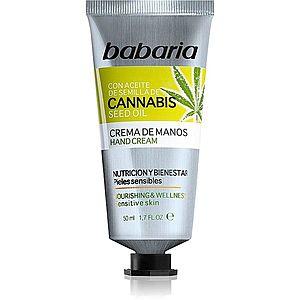 Babaria Cannabis hydratační krém na ruce 50 ml obraz