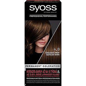 Syoss Permanent Coloration permanentní barva na vlasy odstín 4-8 Chocolate Brown obraz