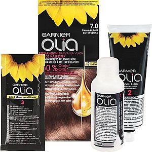 Garnier Olia barva na vlasy odstín 7.0 Dark Blonde obraz