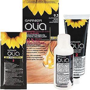Garnier Olia barva na vlasy odstín 9.3 Golden Light Blonde obraz