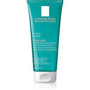 La Roche-Posay Effaclar čisticí peelingový gel pro mastnou a problematickou pleť 200 ml obraz