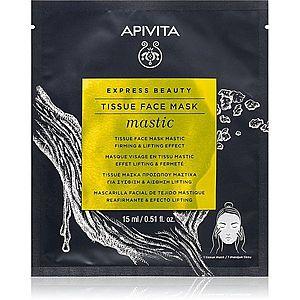 Apivita Express Beauty Mastic liftingová plátýnková maska 15 ml obraz