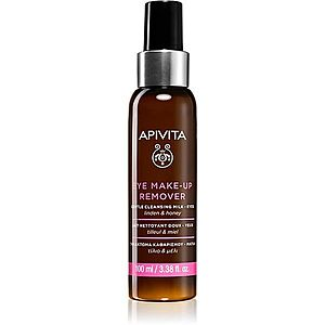 Apivita Cleansing Honey & Tilia odličovač očního make-upu 100 ml obraz