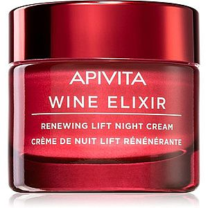 Apivita Wine Elixir Santorini Vine obnovující liftingový krém na noc 50 ml obraz