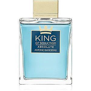 Antonio Banderas King of Seduction Absolute toaletní voda pro muže 200 ml obraz