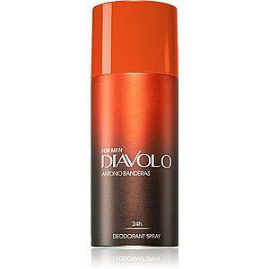Antonio Banderas Diavolo deodorant ve spreji pro muže 150 ml obraz