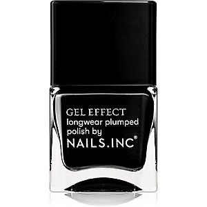 Nails Inc. Gel Effect dlouhotrvající lak na nehty odstín Black Taxi 14 ml obraz