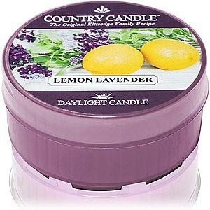 Country Candle Lemon Lavender čajová svíčka 42 g obraz