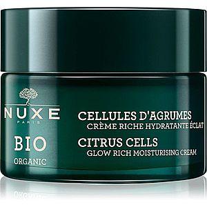 Nuxe Bio Organic rozjasňující hydratační krém pro normální až suchou pleť 50 ml obraz