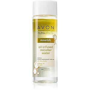 Avon Nutra Effects Nourish dvoufázová micelární voda pro normální až suchou pleť 200 ml obraz