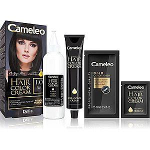 Delia Cosmetics Cameleo Omega permanentní barva na vlasy odstín 1.0 Black obraz