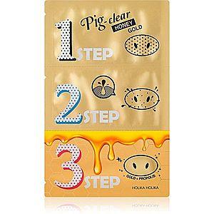 Holika Holika Pig Nose Honey Gold čisticí náplast na zanešené póry na nose obraz