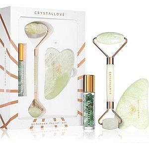 Crystallove Quartz Beauty Set Jade sada pro péči o pleť obraz
