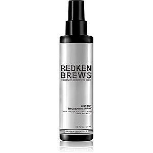 Redken Brews objemový sprej pro jemné vlasy 125 ml obraz